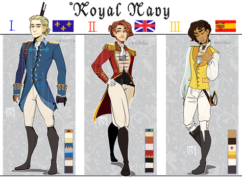 RT - Royal Navy Adoptables by ScaredPrince