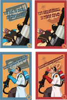 TF2 Postcards - Pt 3 by ryuuza-art