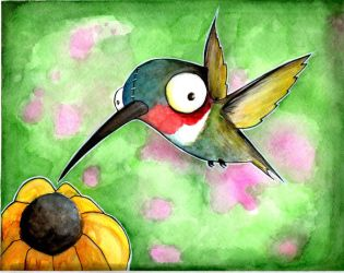 Oscar the Humming Bird by UMINGA