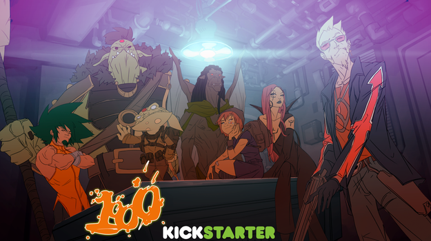 KICKSTARTER: 1000 animated project by greenestreet