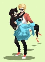 this cheesy DaveJade thing by WingJourneys