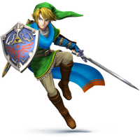 Hyrule Warriors Link SSB4 WIP (requested) by SimpleDerk