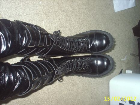 The Master's New Goth Boots 3 by PlayboyVampire
