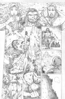 justice league 23.1 Darkseid page 04 pencil by PauloSiqueira