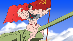 Onward to Victory! by Soviet-Superwoman