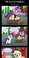 Commission:  The Cost of Muffins by AleximusPrime