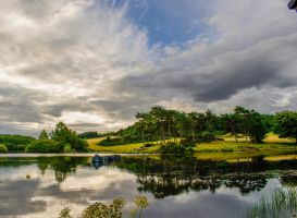 Three Boats on Knapps Loch by SaraWolfPhotographer