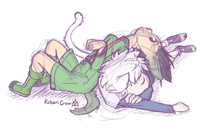 No Time For Naps by RobanCrow