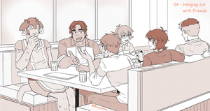 09 - Hanging out with friends (Shklance) by Buryooooo