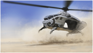 Speedpainting: Helicopter by rickystinger88