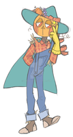 Scarecrow Colored by OhHadivist