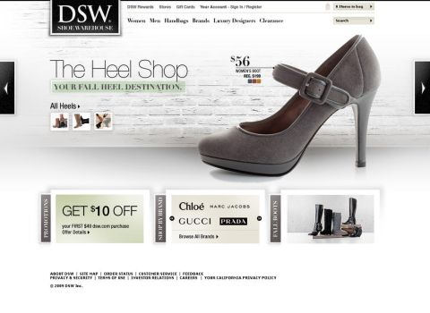 DSW Redesign Concept 03 by Uladk