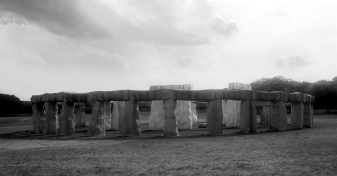 stonehenge II by mjranum-stock