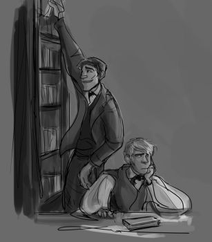 Library by theTieDyeCloak