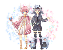 Adoptable set - auction - 1-2 [ closed ] by kyappa