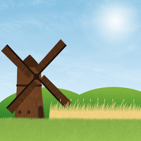 Windmill by tholec