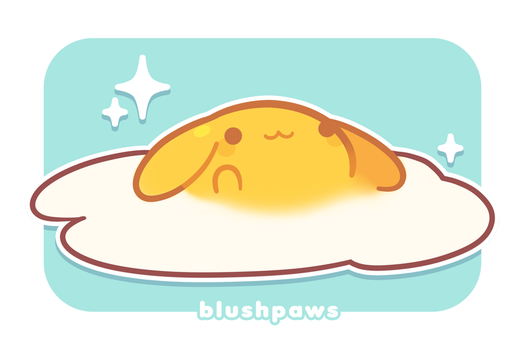 Egg Bun (updated!) by plushpon