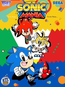 Sonic Mania Artwork [COLOR] by BlueTyphoon17
