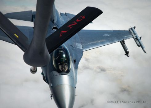 F-16 Refueling by jdmimages