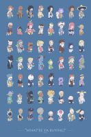 What're ya buying shopkeeper poster by Orioto