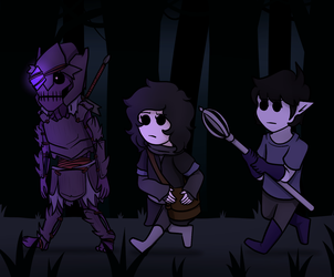 Walking through the Abyssal Grove by Nanotide