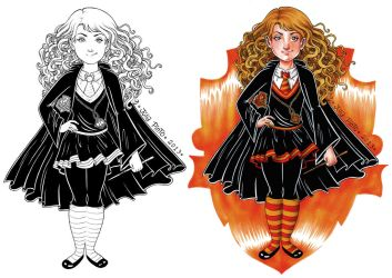 Hermione by juliapinto