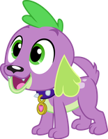 Spike by missgoldendragon