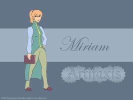 Miriam by MathewJPallett