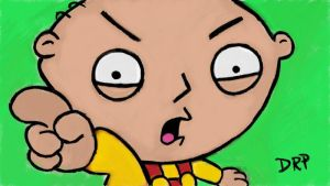 Family Guy Stewie Griffin by davidpustansky