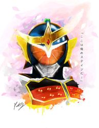 Armored Rider Gaim by PeterCJiang