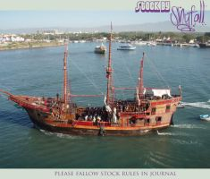 Caribbean - Pirate Ship 02 by DeadHeadStock