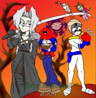 Halloween: videogames disguise by SeigneurRuei