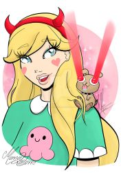 Star vs. the Forces of Evil by Maria Latorre by marialatorreart