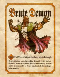 Brute Demon by Charmed-BOS