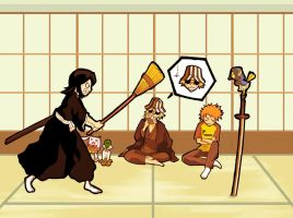 Bleach: Mad Rukia by HTKChidori