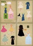 Wicked Paper Dolls