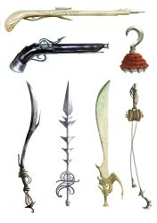 Weapons by 6Noodle9