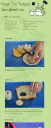 How To: Totoro Sandwiches by Demi-Plum
