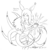 Ninetailed Fighter Again by Ashayami