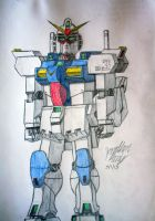 RX-78V-3 Valor Gundam Unit 3 by JAM4077