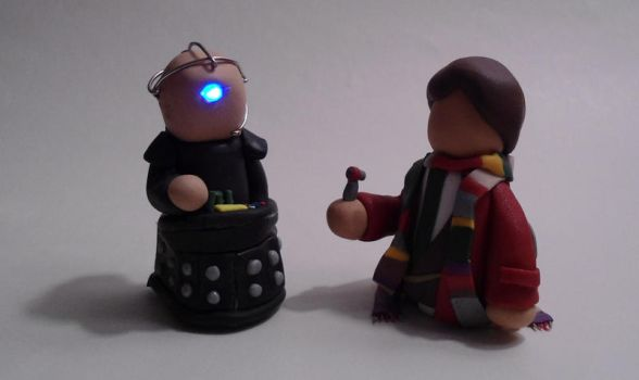Little Doctors - Davros by Lonely-Invisible