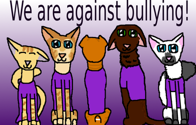 Spirit day Stand Up to Bullying by NerdWithADog