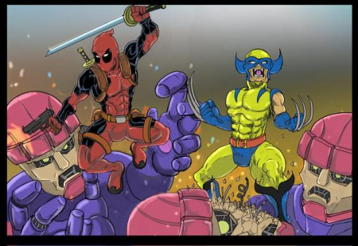 Deadpool and Wolverine by Zaatis