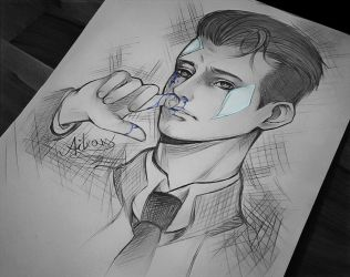Connor sketch by AikaXx