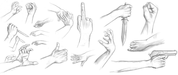 hand practise. by Akiroo