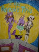 LarryBoy and the Heroic Trio by Magic-Kristina-KW