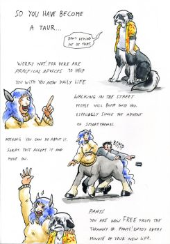 So you've become a taur 1 by Cervelet