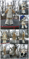 OOAK Reindeer Fursuit (2013) by Eternalskyy