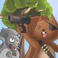 Squirrel Quest Art by jcling