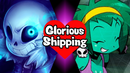 Glorious Shipping Sans and Rottytops by scott910